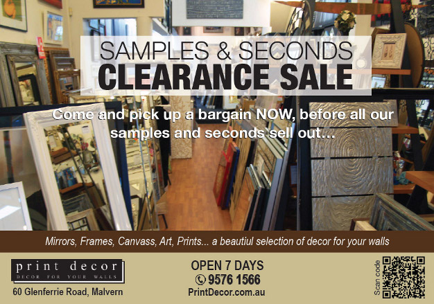 Mirrors, Prints and Frames at bargain prices